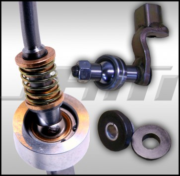 JHM Trio Package - Solid Shifter, Linkage and Bushing for 02-03 B6 A4 3.0l V6 only (6-speed)