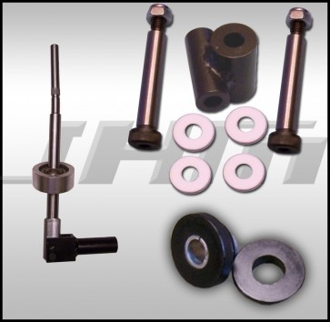 JHM Trio Package - Solid Shifter, Linkage and Bushing for 2002 - 2004 (5-Speed) B6 A4