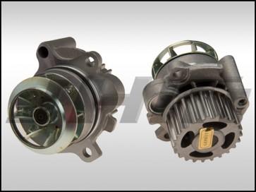Water Pump (Hepu) METAL impeller for Audi B7 A4, A3-TT, VW Golf-GTI-Jetta-EOS-Passat with 2.0T FSI