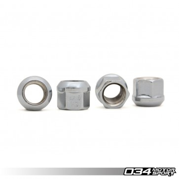 WHEEL NUT, AUDI/VW R13 BALL SEAT, M14X1.5 (set of 4)