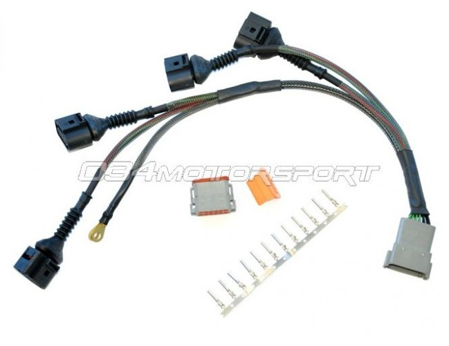 audi harness, ignition coil wiring repair, 4 wire coil audi vw 1 8t  at 2006 Audi A4 1 8 T Cabriolet Coil Pack Wiring Harness