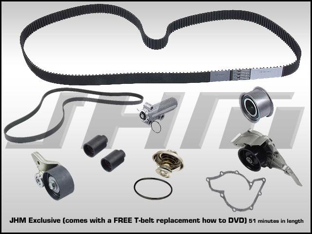 Audi Jhm C5 Rs6 42l V8 0304 Timing Belt Kit With Install Dvd