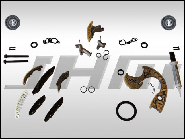 For A6 Allroad Quattro S4 4.2L V8 Passenger Right Timing Chain Tensioner Gasket