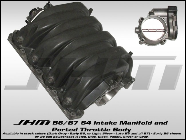 JHM Intake Manifold for B6/B7 S4 and C5-allroad w 4 2L (40v))