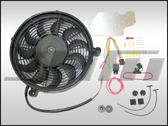 JHM_EFK_B5 S4 C5 a6 ar 27T electric fan kit v2 (efk) high or medium flow for b5 s4, c5 a6 2001 Audi Allroad Engine at webbmarketing.co