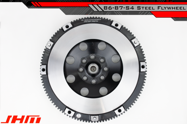 JHM Lightweight Flywheel (Chrome-Moly Forged) and Clutch Combo for 04 and  up B6-B7 S4