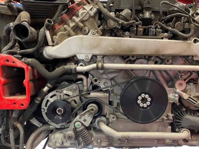 Audi 6/Rib Alternator Belt Conversion Kit, B7/RS4