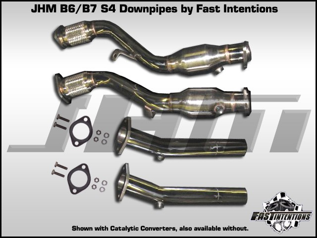 Exhaust - Downpipes - JHM B6-B7 S4 4 2L by FI