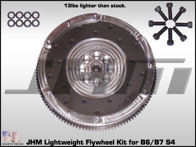 Jhm Lightweight Aluminum Flywheel For Fits B6 S4 As An Upgrade And Must Use B7