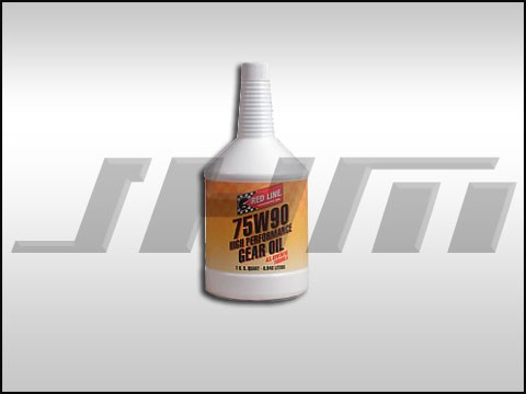 Gear Oil for Rear Diff 75w90(Synthetic) Red Line 75w90 -Quart