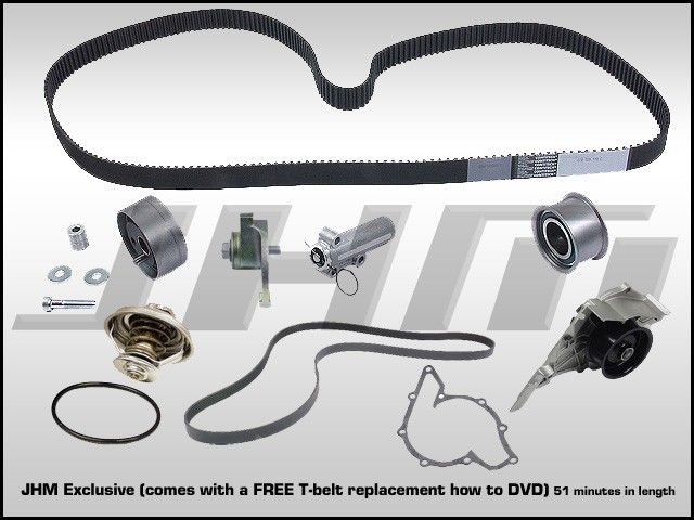 Brilliant Audi Jhm 2 7T Timing Belt Kit With Install Dvd Wiring Digital Resources Skatpmognl