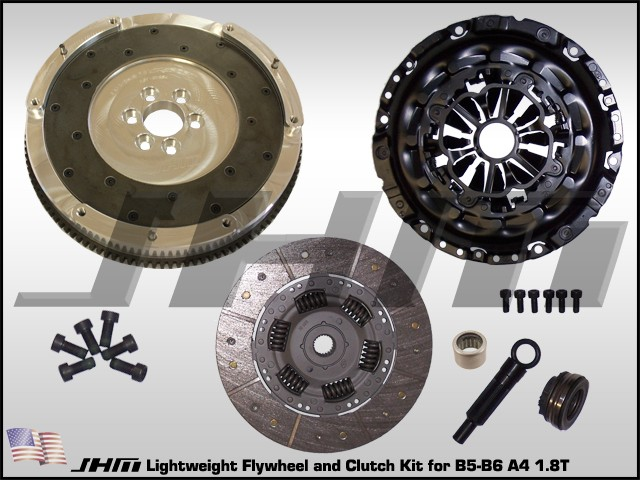 Jhm Lightweight Flywheel And Clutch Combo With B7 Rs4 Pressure Plate