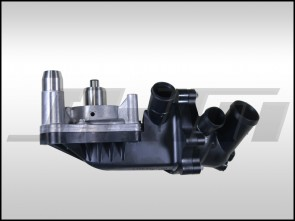 Water Pump and Thermostat Assembly (OEM) for D4 A8 and B8 S5 4.2L