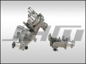 Water Pump Assembly w T-stat (OEM) for 4.2L V8 - B6/B7 S4