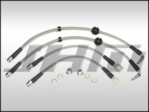 Brake Line Kit-Stainless (JHM) Front and Rear Lines for B7-RS4