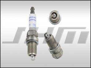 Spark plug - (OEM-Bosch) double platinum for Audi VW w 2.0t FSI, 2.0t TFSI, 2.0t TSI and Audi RS5 4.2l V8