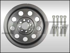 JHM Lightweight Crank Pulley for C5 A6-S6 w/ 4.2L Timing Belt V8