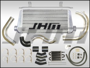 Intercooler Kit - Front Mount or FMIC (JHM) Large Core for B7-A4 2.0T - BLACK COUPLERS