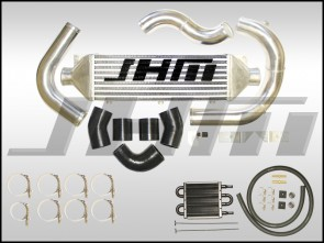 Intercooler Kit - Front Mount or FMIC (JHM) for B7-A4 2.0T - BLACK COUPLERS