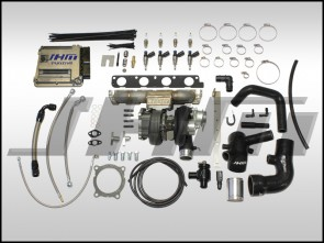 JHM TD05H-R Stage 3 Big Turbo Kit (SS LOG MANIFOLD) w/ Tune (Fueling Required) for B7-A4 2.0T