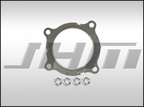 Hardware Kit (JHM) for B7-A4 2.0T Cat Pipe or Race Pipe, Turbo Connection