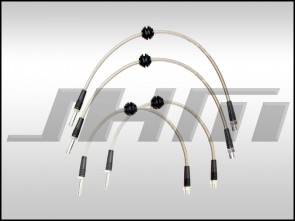 Brake Line Kit-Stainless (JHM) Front and Rear Lines for B8 S4-S5