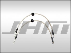 Brake Line Kit-Stainless (JHM) Front Lines ONLY for B8 S4-S5