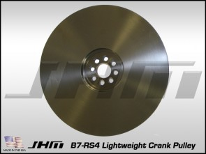 JHM Lightweight Crank Pulley for B7-RS4 w 4.2L (32v) V8