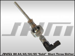 JHM Solid Short Throw Shifter B8 A4/A5/S4 and S5, 2008 - on