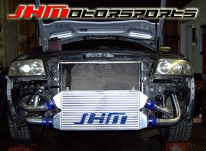 JHM Front Mount Intercooler (FMIC) Kit for C5-allroad 2.7t - BLACK COUPLERS