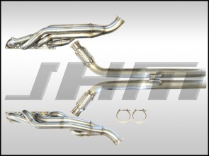 Exhaust - Headers - JHM Mid-Length, Version 2 (Stainless Steel) for B6-B7 S4