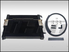 Heat Exchanger Kit (BLACK CORE) Bolt-On Performance Multi-Pass (JHM) for 4L Audi Q7 3.0T