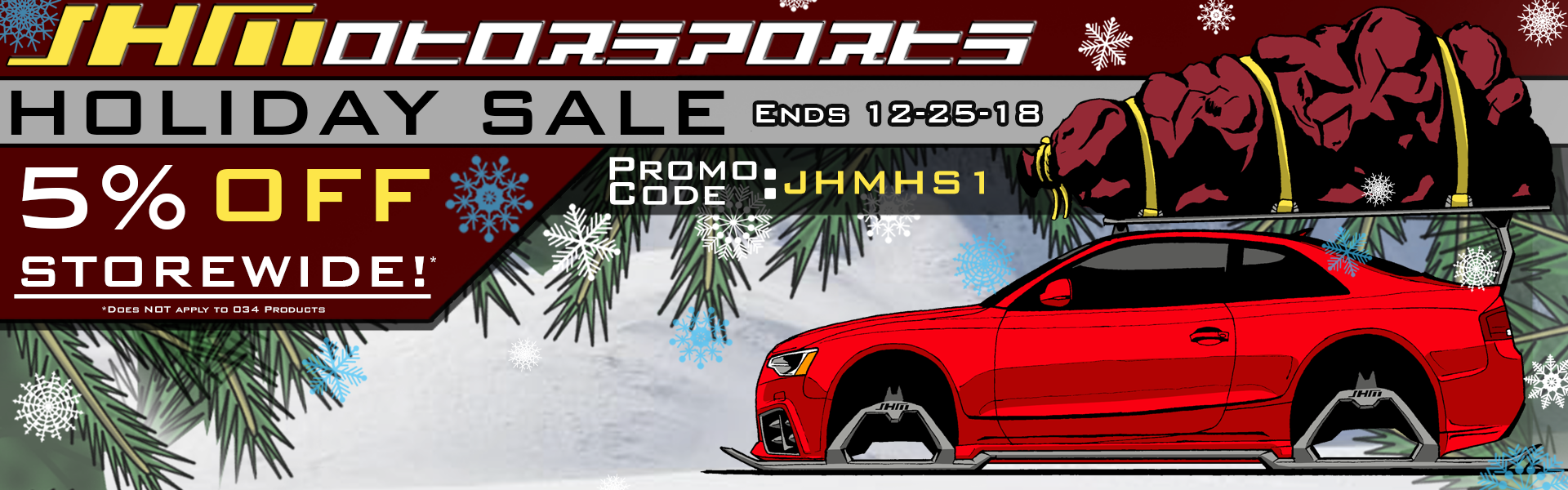 JHM HOLIDAY SALE