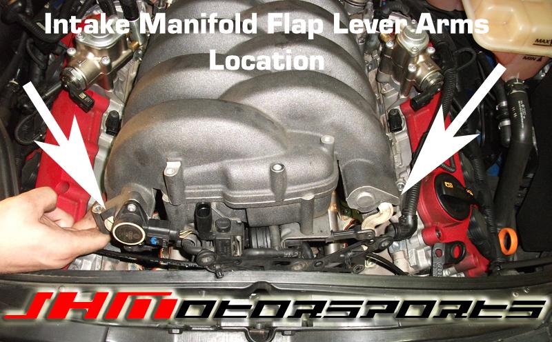 Audi Intake Manifold Flap Linkage Arms, B7/RS4