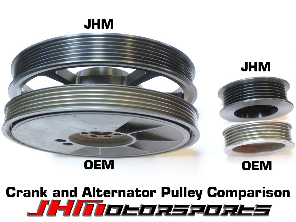 Audi JHM 6-Rib Alternator Belt Conversion Kit, Version 3