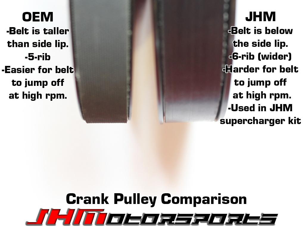 Audi JHM 6-Rib Alternator Belt Conversion Kit, Version 4