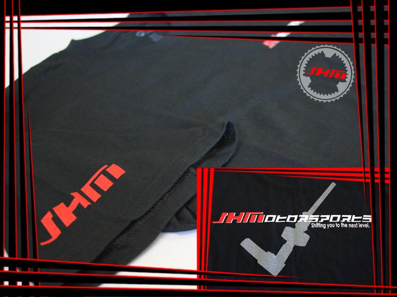Audi T-shirt (JHM) JHM on Front, JHM Shifter on Back
