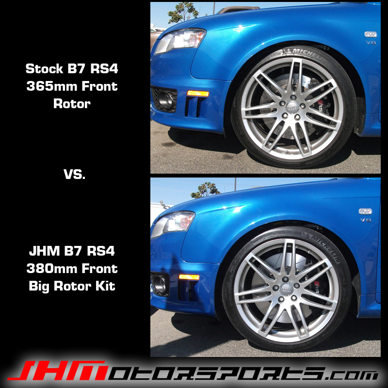 Audi RS4 Brake Rotor Rings (Front) Big 380 MM