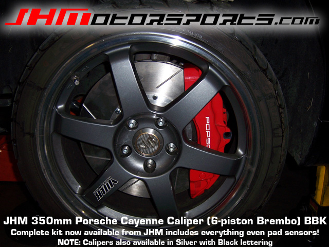 Audi Front Calipers, Porsche Cayenne (Brembo 6-piston) 350mm