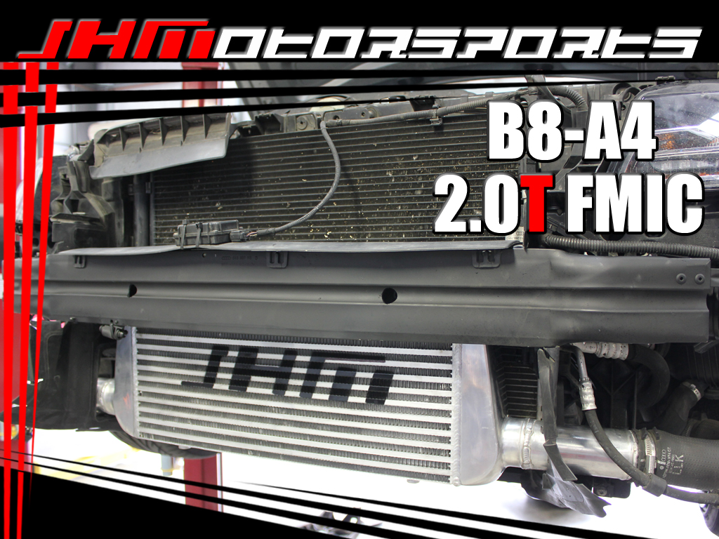 B8 A4 Intercooler Kit - Front Mount