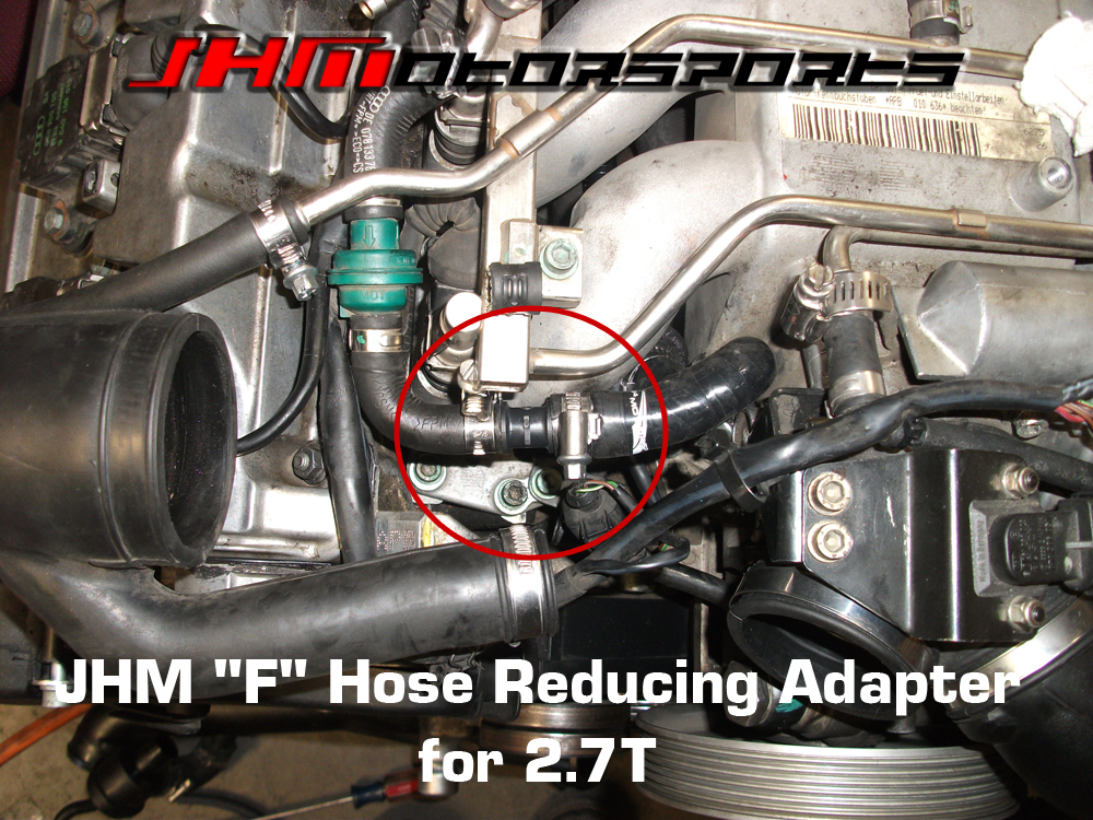 Audi Reducer-Adapter for F Hose (JHM) for 2.7t