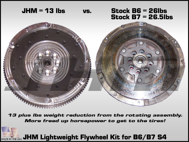 Audi S4 B6-B7 Lightweight Flywheel & Performance Clutch