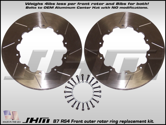 Audi RS4 Brake Rotor Rings (Front)
