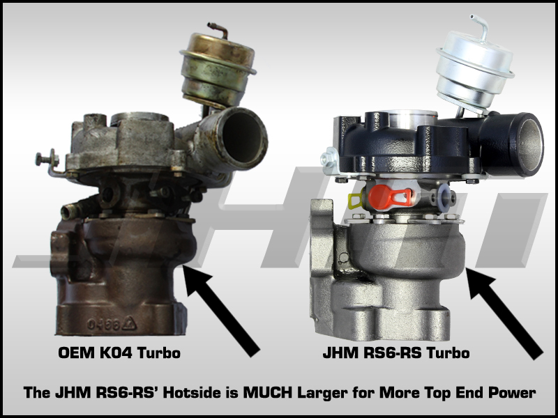 Audi JHM RS6-RS Turbos for 2.7T