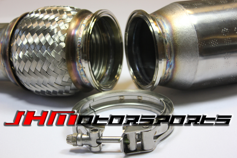Audi Exhaust - Full - 2.75 Inch Downpipes and Cat-Back, B7-RS4