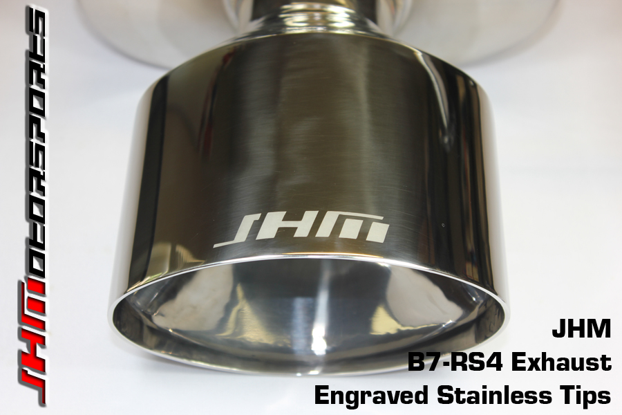 Audi Exhaust - Full - 2.75 Inch Downpipes and Cat-Back, B7-RS9