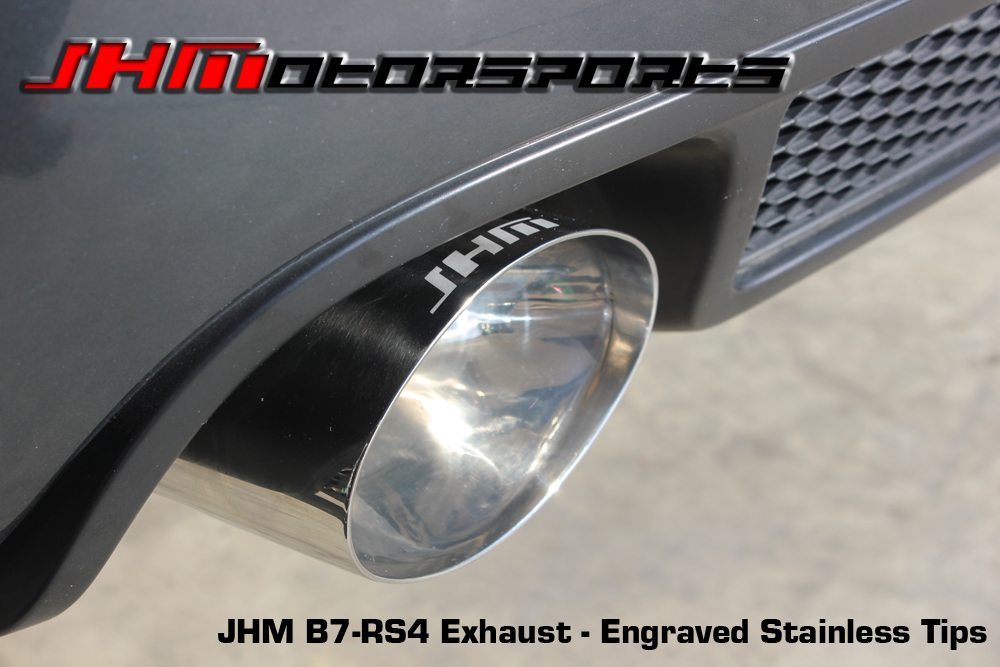 Audi Exhaust - Full - 2.75 Inch Downpipes and Cat-Back, B7-RS8