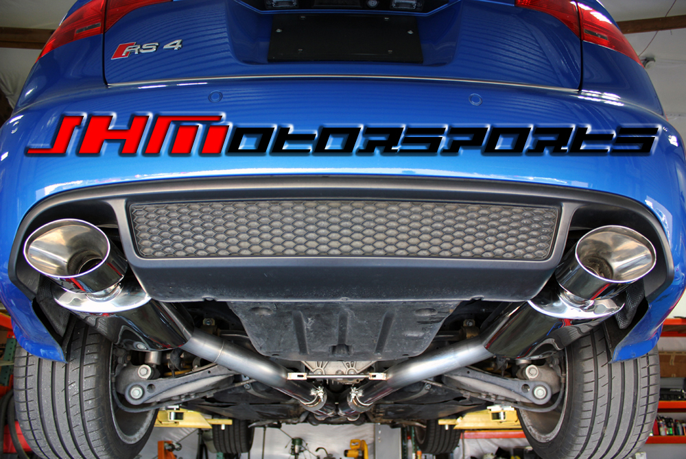 Audi Exhaust/Cat/Back/ B7/RS4 Stainless Steel 2.75 Inch