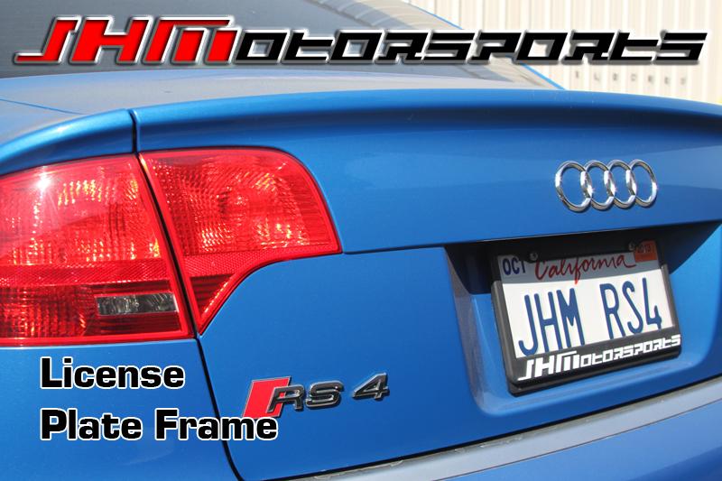 Audi JHM JHMotorsports License Plate Frame