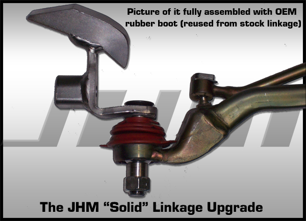 B6/B7 S4/RS4 Solid Shifter, Linkage & Bushing